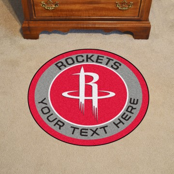 Picture of Houston Rockets Personalized Roundel Mat