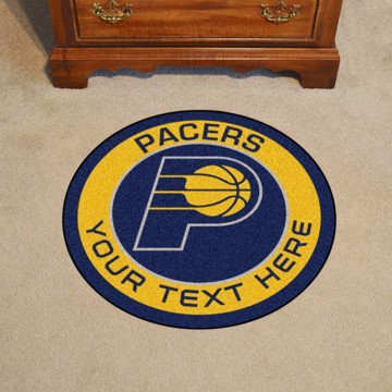 Picture of Indiana Pacers Personalized Roundel Mat