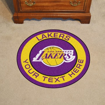 Picture of Los Angeles Lakers Personalized Roundel Mat