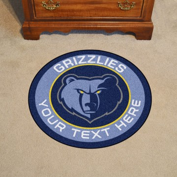 Picture of NBA - Memphis Grizzlies Personalized Roundel Mat
