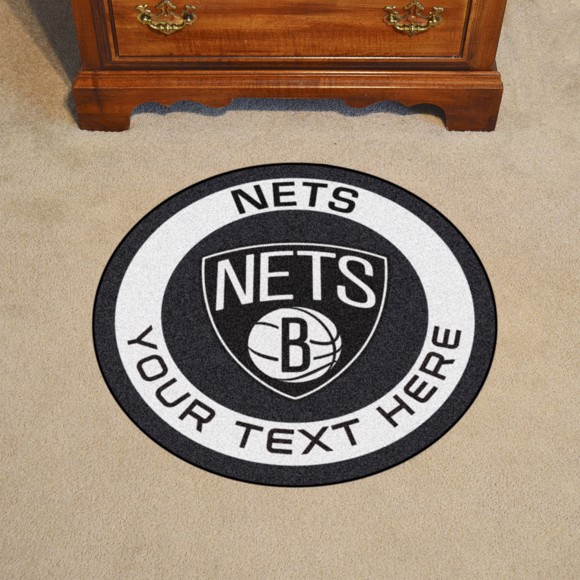 Picture of Brooklyn Nets Personalized Roundel Mat
