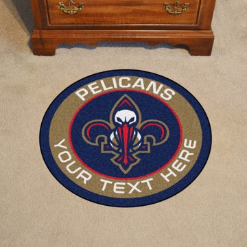 Picture of New Orleans Pelicans Personalized Roundel Mat