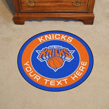 Picture of NBA - New York Knicks Personalized Roundel Mat