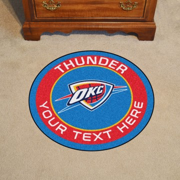 Picture of NBA - Oklahoma City Thunder Personalized Roundel Mat