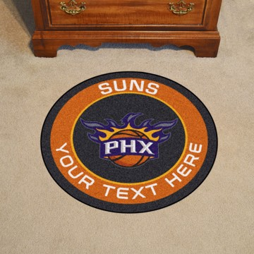 Picture of Phoenix Suns Personalized Roundel Mat
