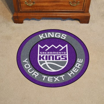 Picture of NBA - Sacramento Kings Personalized Roundel Mat