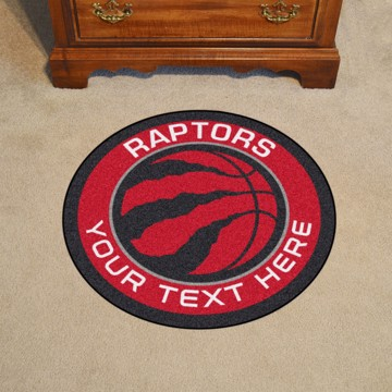 Picture of Toronto Raptors Personalized Roundel Mat
