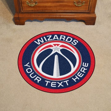 Picture of NBA - Washington Wizards Personalized Roundel Mat