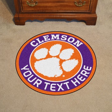 Picture of Personalized Clemson University Roundel Mat