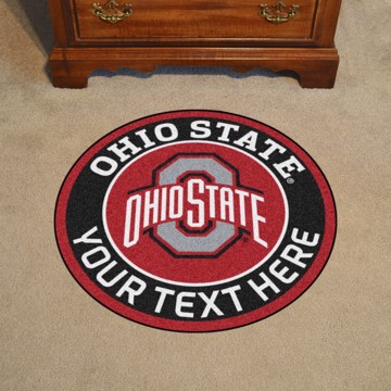 Picture of Personalized Ohio State University Roundel Mat