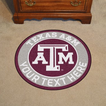 Picture of Personalized Texas A&M University Roundel Mat