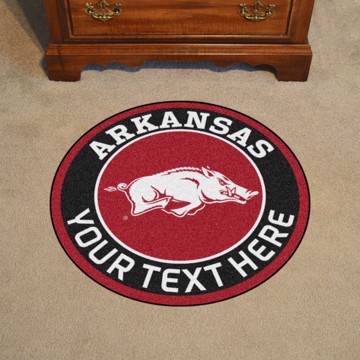 Picture of Personalized University of Arkansas Roundel Mat