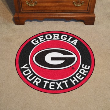 Picture of Personalized University of Georgia Roundel Mat