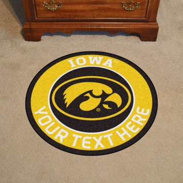 Picture of Personalized University of Iowa Roundel Mat