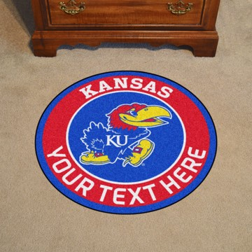 Picture of Personalized University of Kansas Roundel Mat
