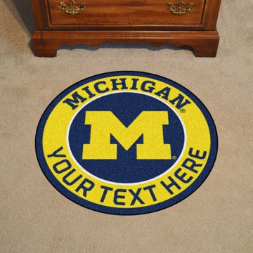 Picture of Personalized University of Michigan Roundel Mat