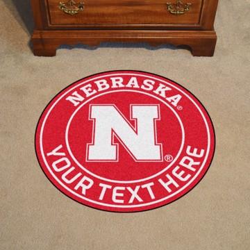 Picture of Personalized University of Nebraska Roundel Mat
