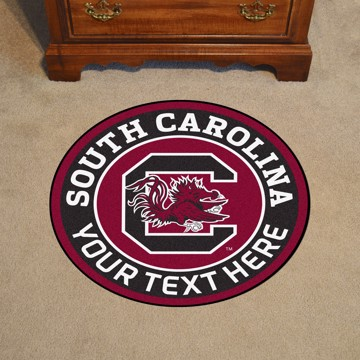 Picture of Personalized University of South Carolina Roundel Mat