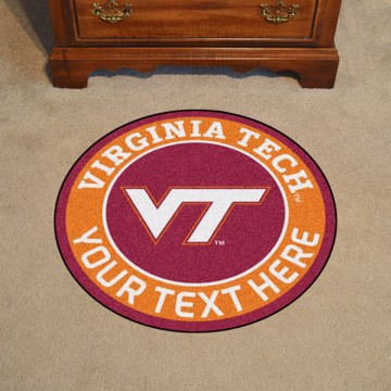 Picture of Personalized Virginia Tech Roundel Mat