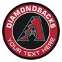 Picture of Arizona Diamondbacks Personalized Roundel Mat
