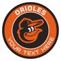 Picture of Baltimore Orioles Personalized Roundel Mat Rug