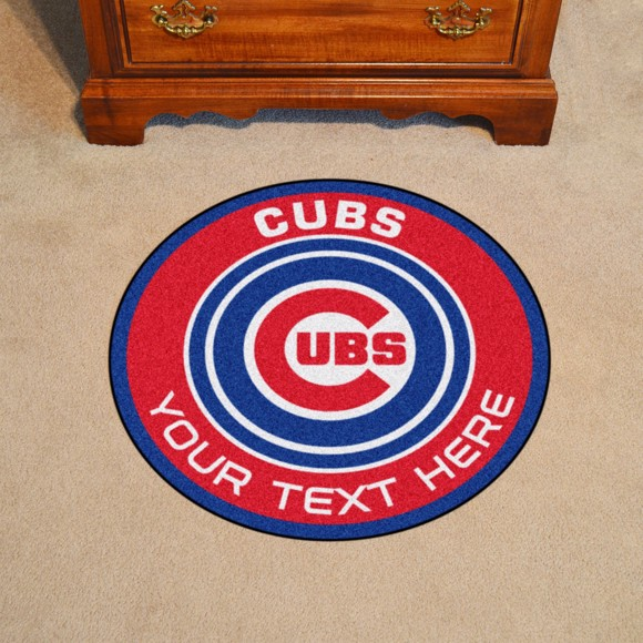 Picture of Chicago Cubs Personalized Roundel Mat