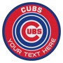Picture of Chicago Cubs Personalized Roundel Mat Rug