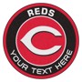 Picture of Cincinnati Reds Personalized Roundel Mat Rug