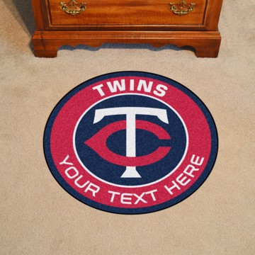 Picture of Minnesota Twins Personalized Roundel Mat