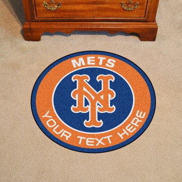 Picture of New York Mets Personalized Roundel Mat
