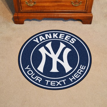 Picture of New York Yankees Personalized Roundel Mat