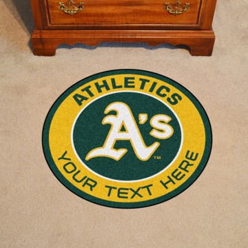 Picture of Oakland Athletics Personalized Roundel Mat