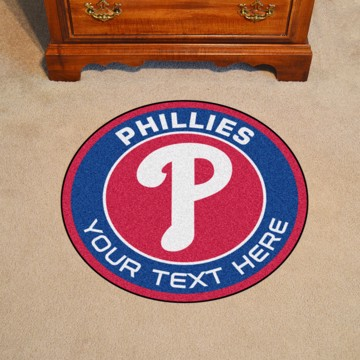 Picture of Philadelphia Phillies Personalized Roundel Mat