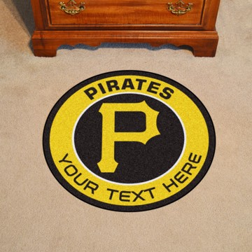 Picture of Pittsburgh Pirates Personalized Roundel Mat