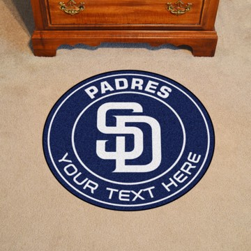 Picture of San Diego Padres Personalized Roundel Mat