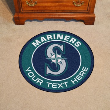Picture of Seattle Mariners Personalized Roundel Mat