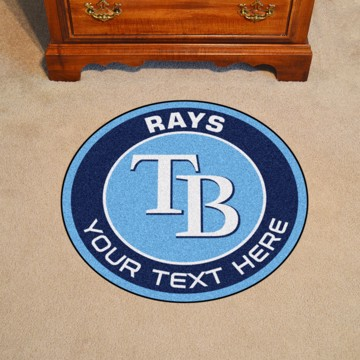 Picture of Tampa Bay Rays Personalized Roundel Mat