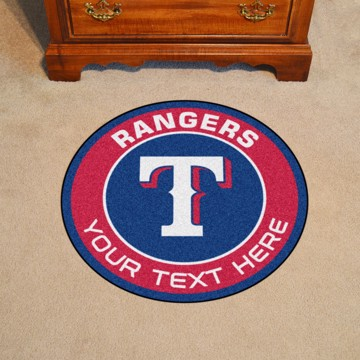 Picture of Texas Rangers Personalized Roundel Mat