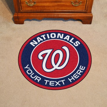 Picture of Washington Nationals Personalized Roundel Mat