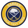 Picture of Buffalo Sabres Personalized Roundel Mat Rug