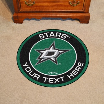 Picture of Dallas Stars Personalized Roundel Mat