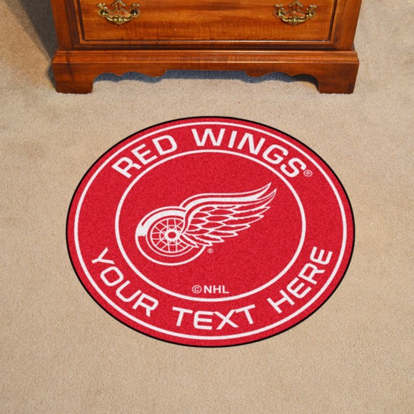 Detroit Red Wings Personalized Roundel