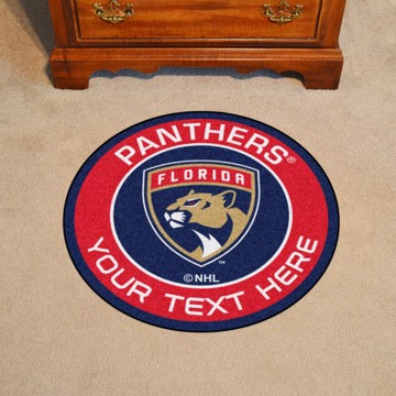 Picture of Florida Panthers Personalized Roundel Mat