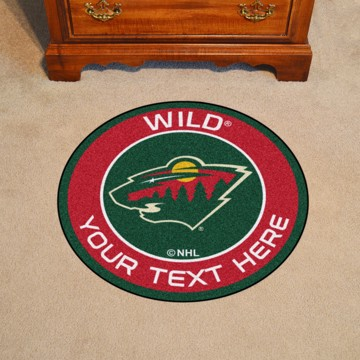 Picture of Minnesota Wild Personalized Roundel Mat