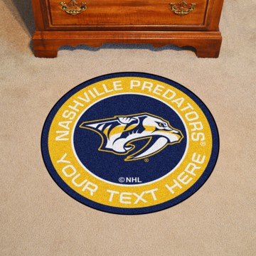 Picture of Nashville Predators Personalized Roundel Mat