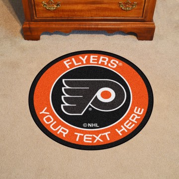 Picture of Philadelphia Flyers Personalized Roundel Mat