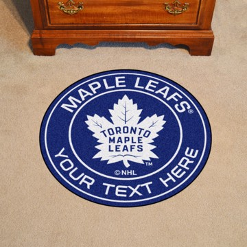 Picture of Toronto Maple Leafs Personalized Roundel Mat