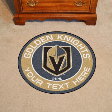 Picture of Vegas Golden Knights Personalized Roundel Mat