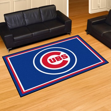 Picture of MLB - Chicago Cubs 5'x8' Plush Rug
