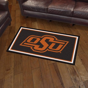 Picture of Oklahoma State 3'x5' Plush Rug